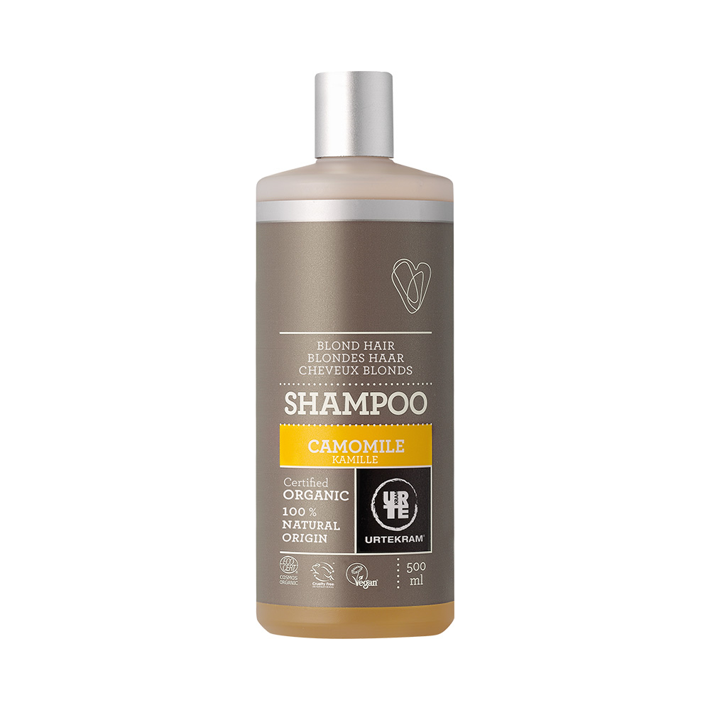 urtekram shampoo kamille blondes haar 500 ml. Black Bedroom Furniture Sets. Home Design Ideas